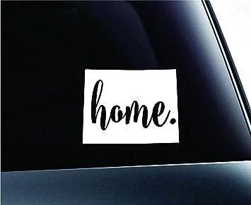 Amazoncom Home Colorado State Denver Silhouette Symbol Sticker
