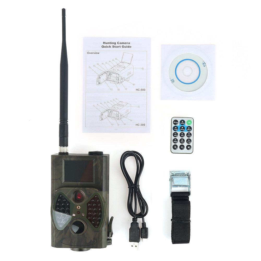 oobest hc-300m HD Digitales Infrarot-Trail Jagd Kamera IR-Cam 940nm MMS GPRS 12m