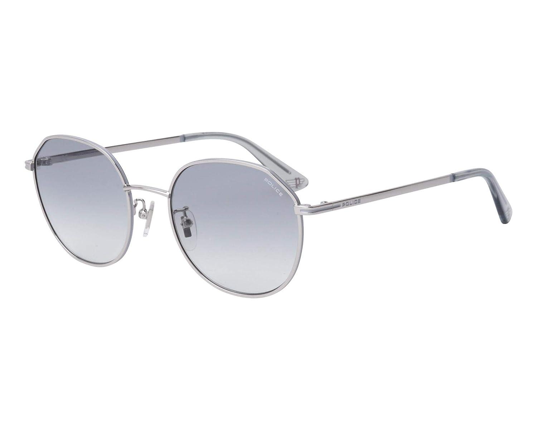 Police - Gafas de sol - para mujer Plateado Rutenio Medium ...
