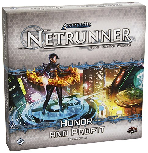 Android: Netrunner The Card Game - Honor and Profit Deluxe Expansion by Fantasy Flight Games