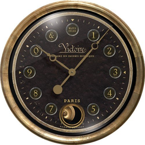 Victorie Clock Pendlum by Trademark Time Co.