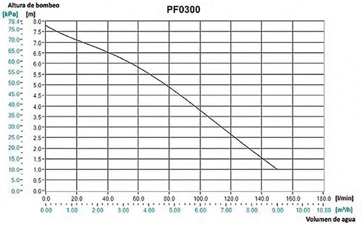 Bomba Sumergible 300W Dolmar PF0300