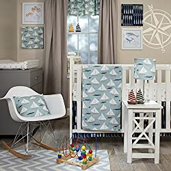Glenna Jean Little Sail Boat Nautical 3 Piece Set
