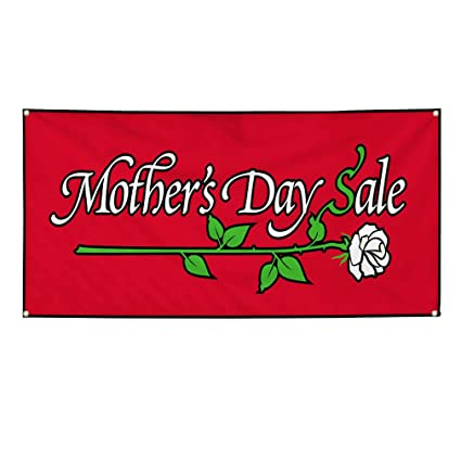 Amazon com : Vinyl Banner Sign Mother's Day Sale Business