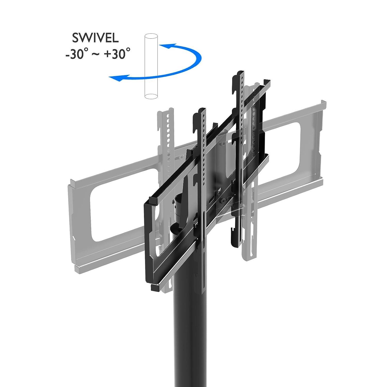 1home tv st nder standfu fernseher fernsehtisch mit halterung f r 32 70 zoll schwenkbar wav 1100. Black Bedroom Furniture Sets. Home Design Ideas