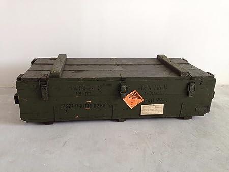 Decocraft Munición Caja de ejército Militar de Almacenamiento Caja ...