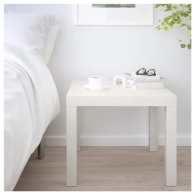 IKEA Lack Mesa Auxiliar (Blanco): Amazon.es: Hogar