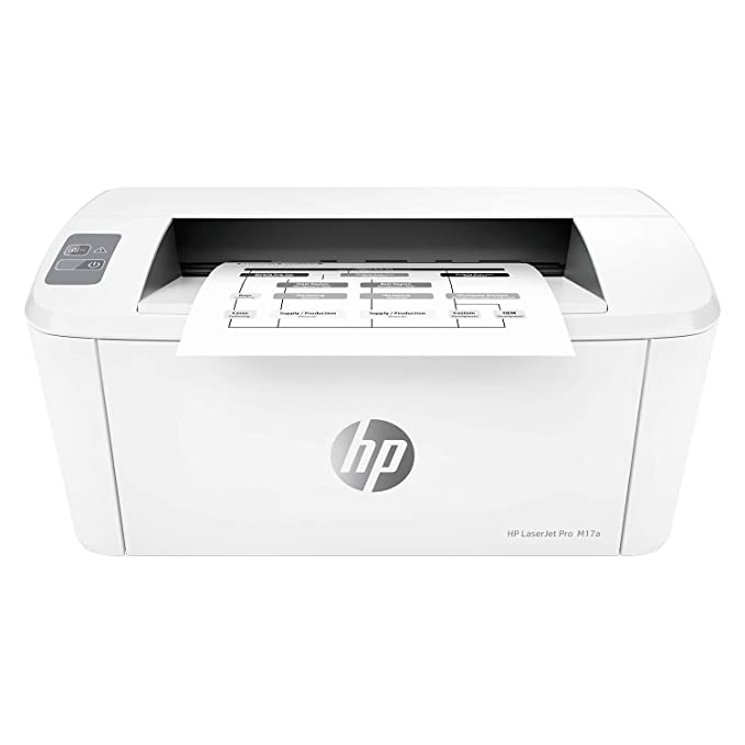 HP Laserjet Pro M17a Single Function USB Connectivity Laser Printer