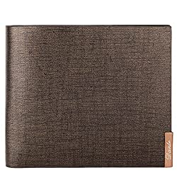 Dante Men's Leather Wallet Clutch Clips Casual Work Business Card Holder