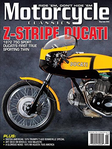 More Details about Motorcycle Classics Magazine