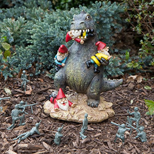 Amazon.com : BigMouth Inc The Great Garden Gnome Massacre, Perfect Funny  Garden Accessory : Garden U0026 Outdoor
