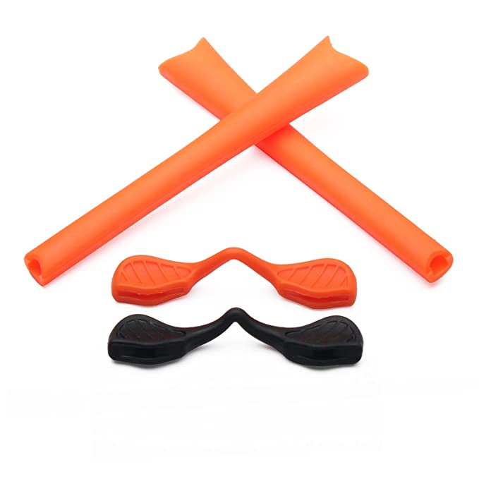 ddb47d3444f Replacement Earsocks   Nosepieces Rubber Kits for Oakley Radar Path  Sunglasses (Orange