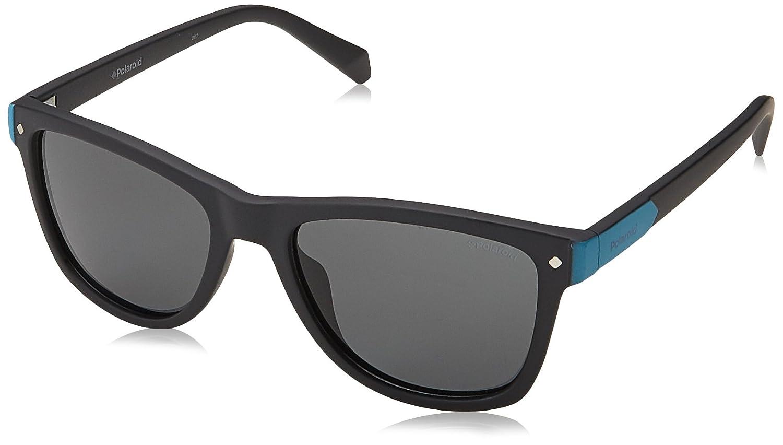 Polaroid Kids' PLD 8025/S M9 003 48 Sunglasses, Matt Black Grey Polaroid Junior