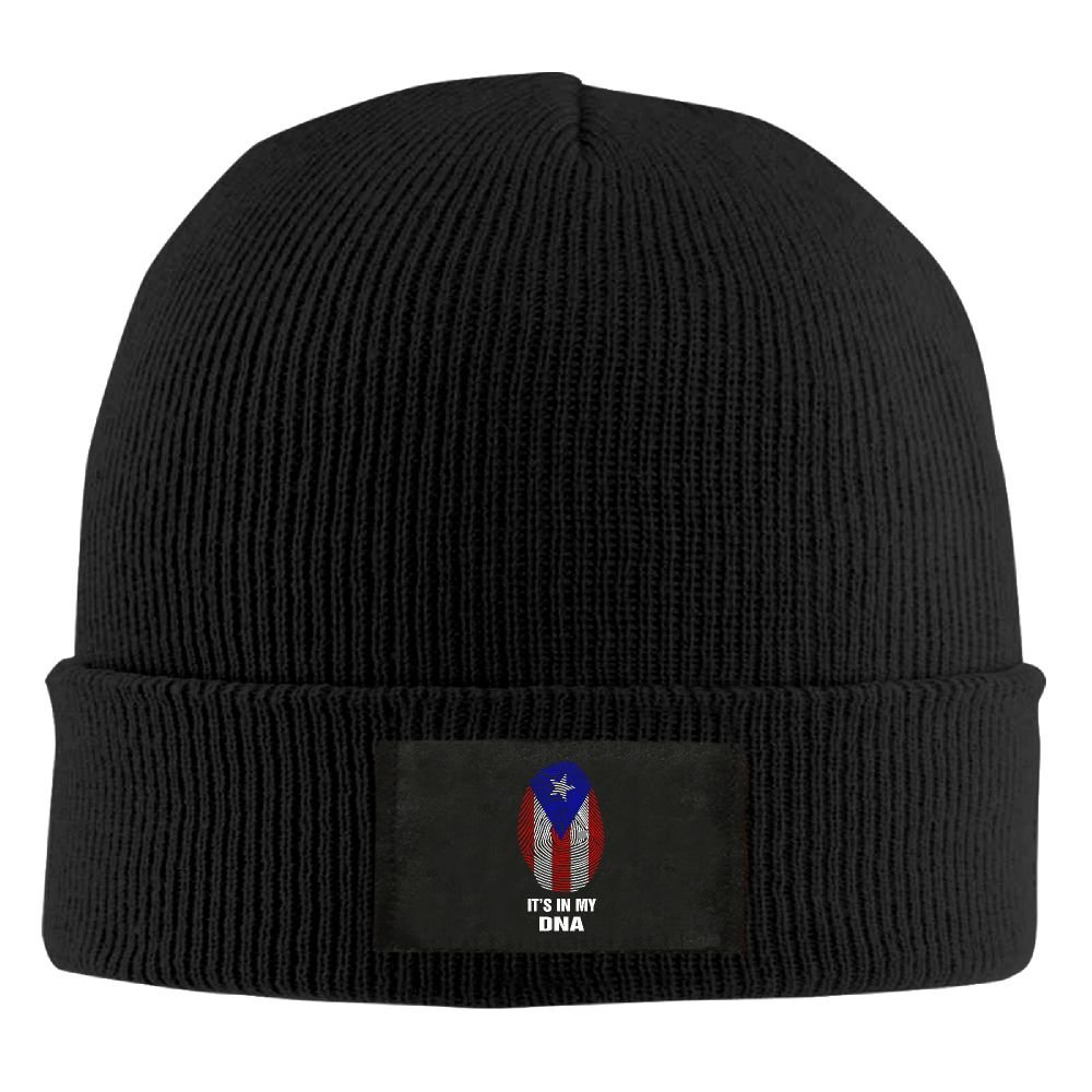 DLOAHJZH-Q Adult Unisex Puerto Rico Flag-Its in My DNA Driver Beanies