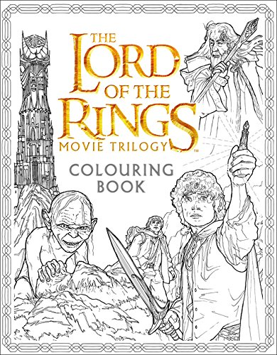 Lord Of The Rings. Movie Trilogy. Colouring Book Colouring Books ...