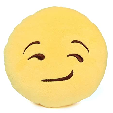King Do Way Emotion Emoji Mini Cojín risa silla Cojín de ...