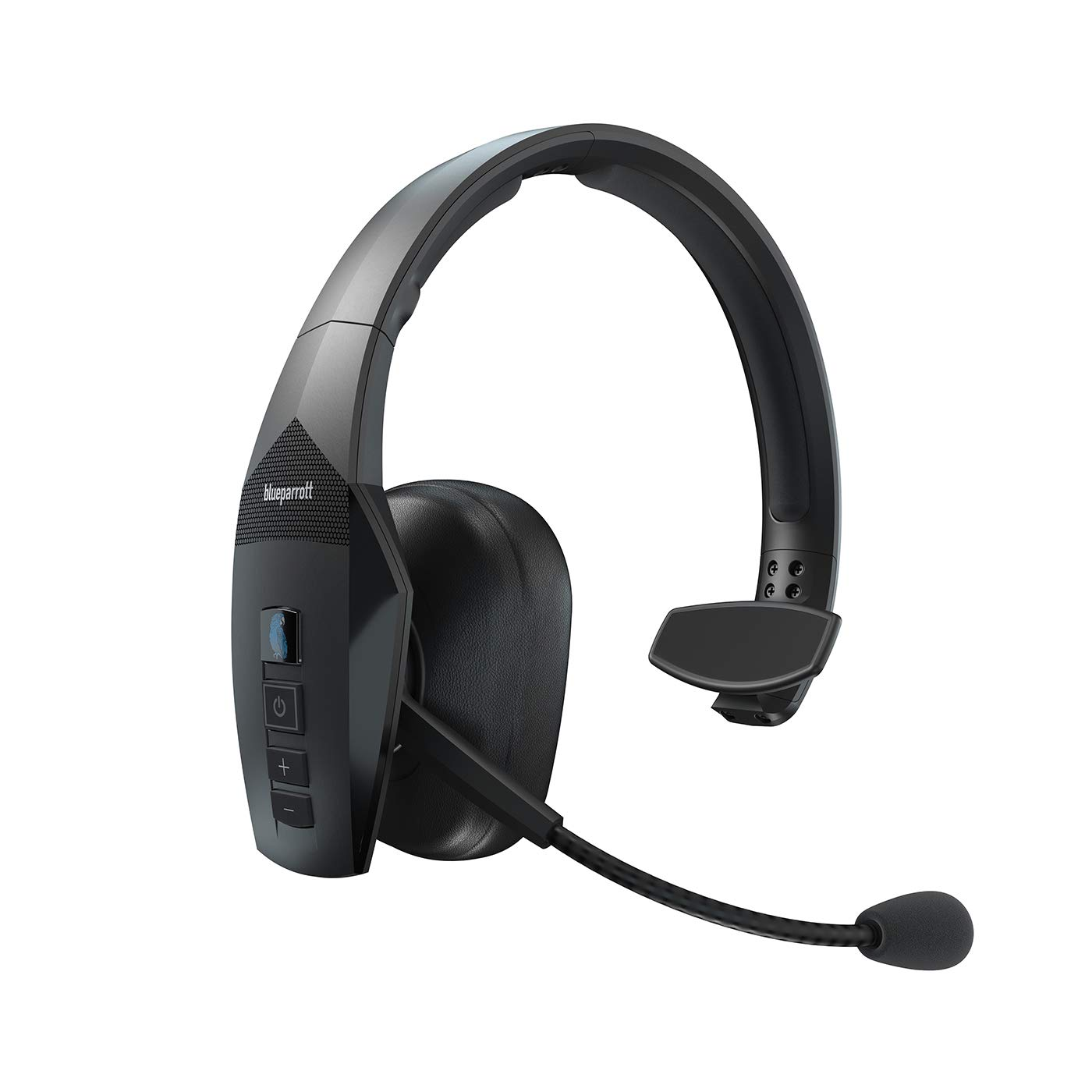 BlueParrott B550-XT Ultra-Rugged, Voice-Controlled, 96% Noise-Canceling Bluetooth Headset