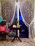 Tende in stile bohème e mandala, per soggiorno, camera da letto