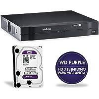DVR Stand Alone 16 Canais MHDX com HD 3TB Multi-HD 1016 4580273 Intelbras