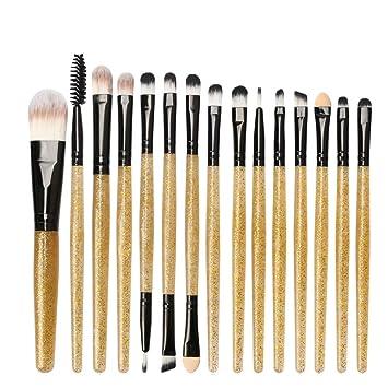 Maquillage Paillettes Outils De Trousse Ensemble Pinceaux IYf7v6gbym