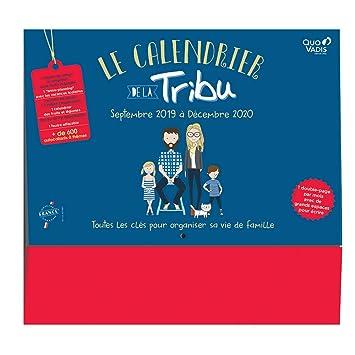 Calendario de la tribu Quovadis - planificador mensual 2019 ...