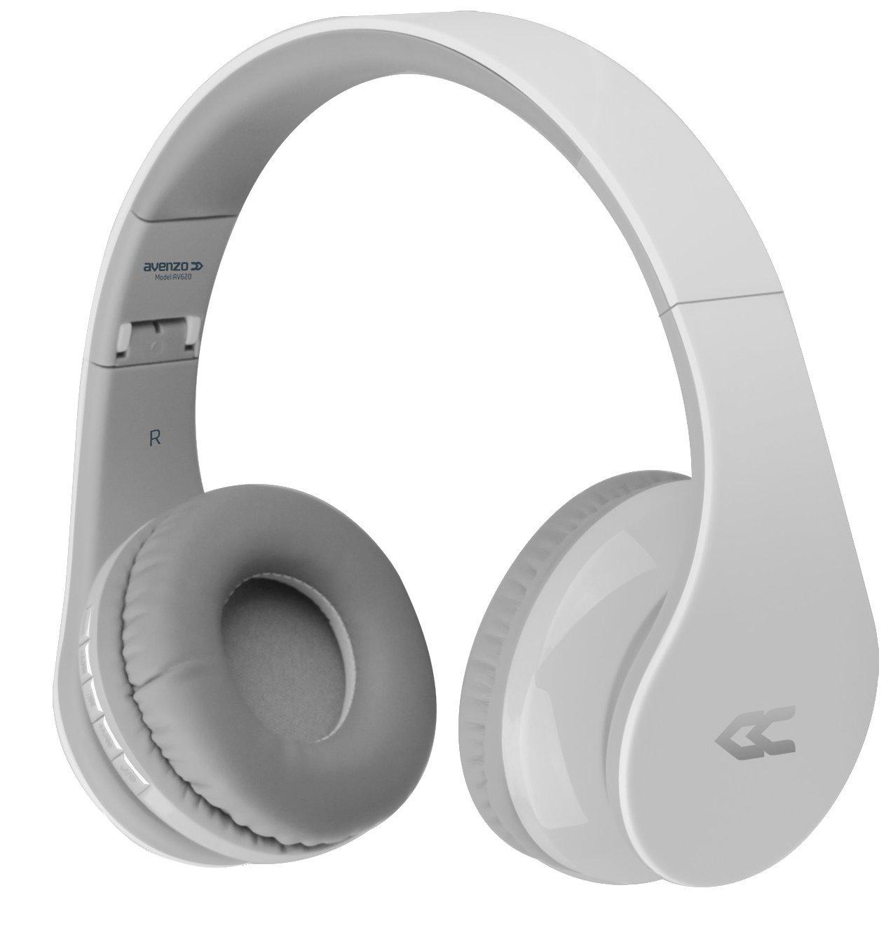 Avenzo AV620BC - Auricular Bluetooth, Color Blanco: Amazon.es: Electrónica