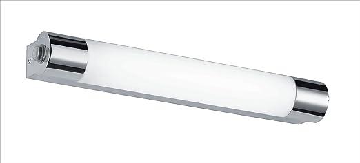 miroir salle de bain avec prise et eclairage trio leuchten led applique murale pour miroir - Appliques Electrique Avec Interrupteur Aubade