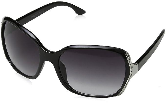 Eyelevel Damen Sonnenbrille Leona, Schwarz (Black), 58