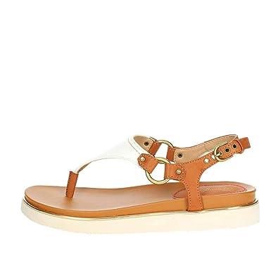 Wrangler WL181716 Sandale Femme Blanc 37 DghhXdH
