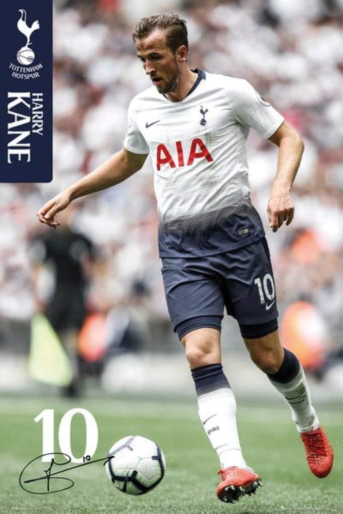 Amazon Com Tottenham Hotspur Harry Kane 2020 Football Soccer Sports Cool Wall Decor Art Print Poster 24x36 Home Kitchen