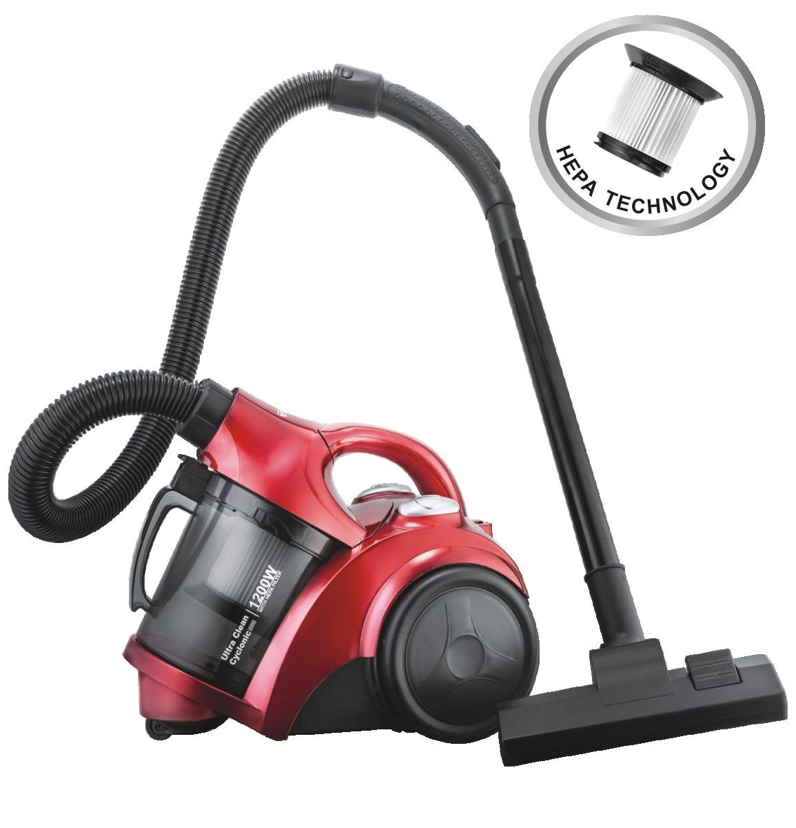 Inalsa Ultra Clean Cyclonic 1200 Watt Dry Vacuum Cleaner
