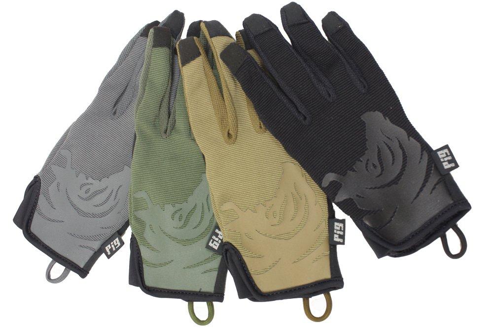 PIG Full Dexterity Tactical (FDT) Echo - Women's Utility Gloves (Carbon Grey, Medium)