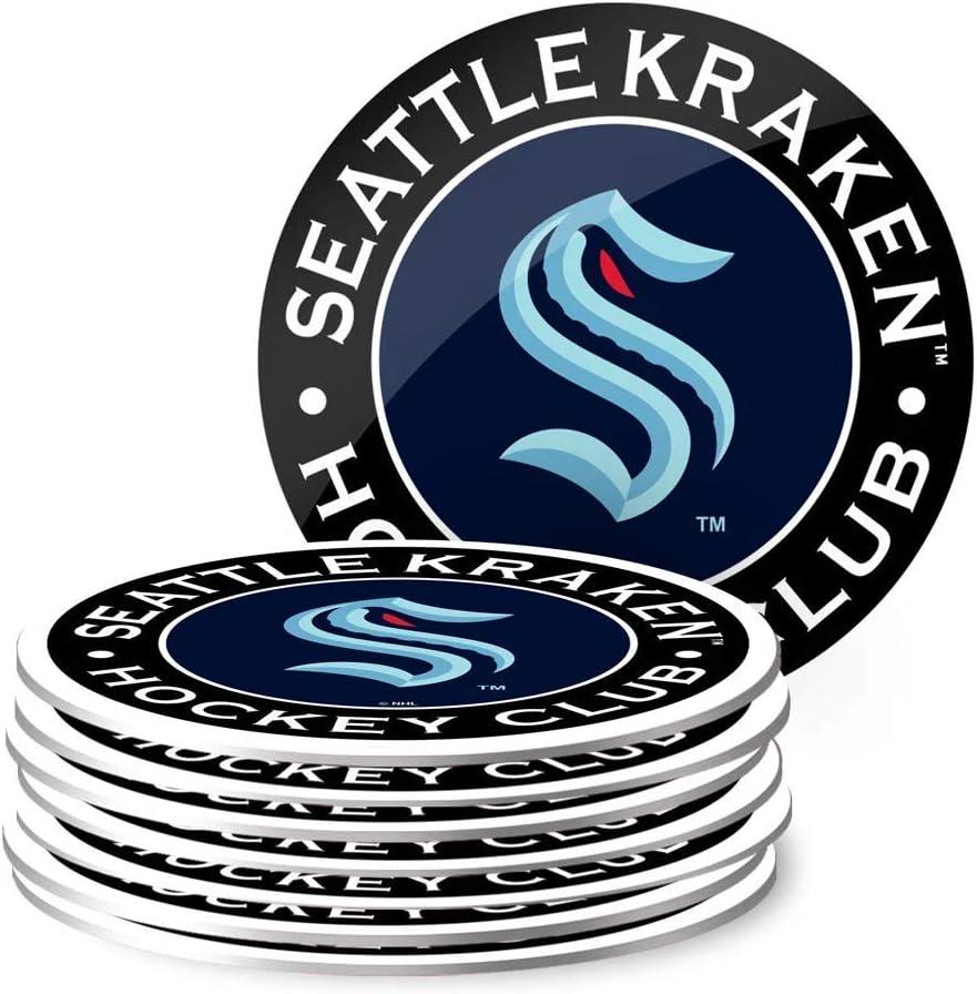 Seattle Kraken Eight Pack Coaster