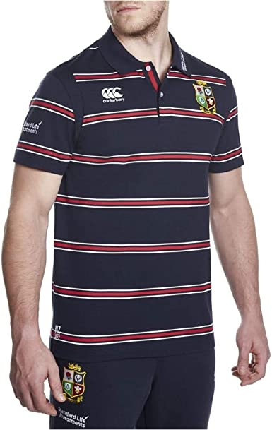 Canterbury British And Irish Lions Cotton Stripe Training Polo ...