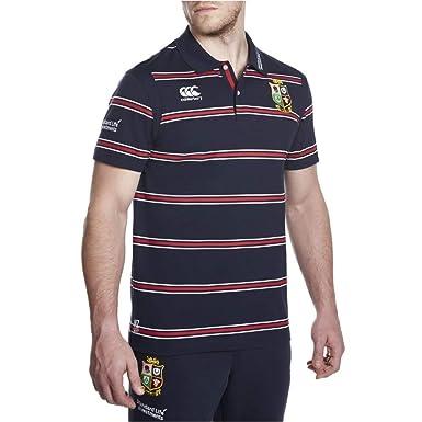 Canterbury British And Irish Lions Cotton Stripe Training Polo ...