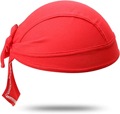Shorty Beanie and Helmet Liner HEADSWEATS Red