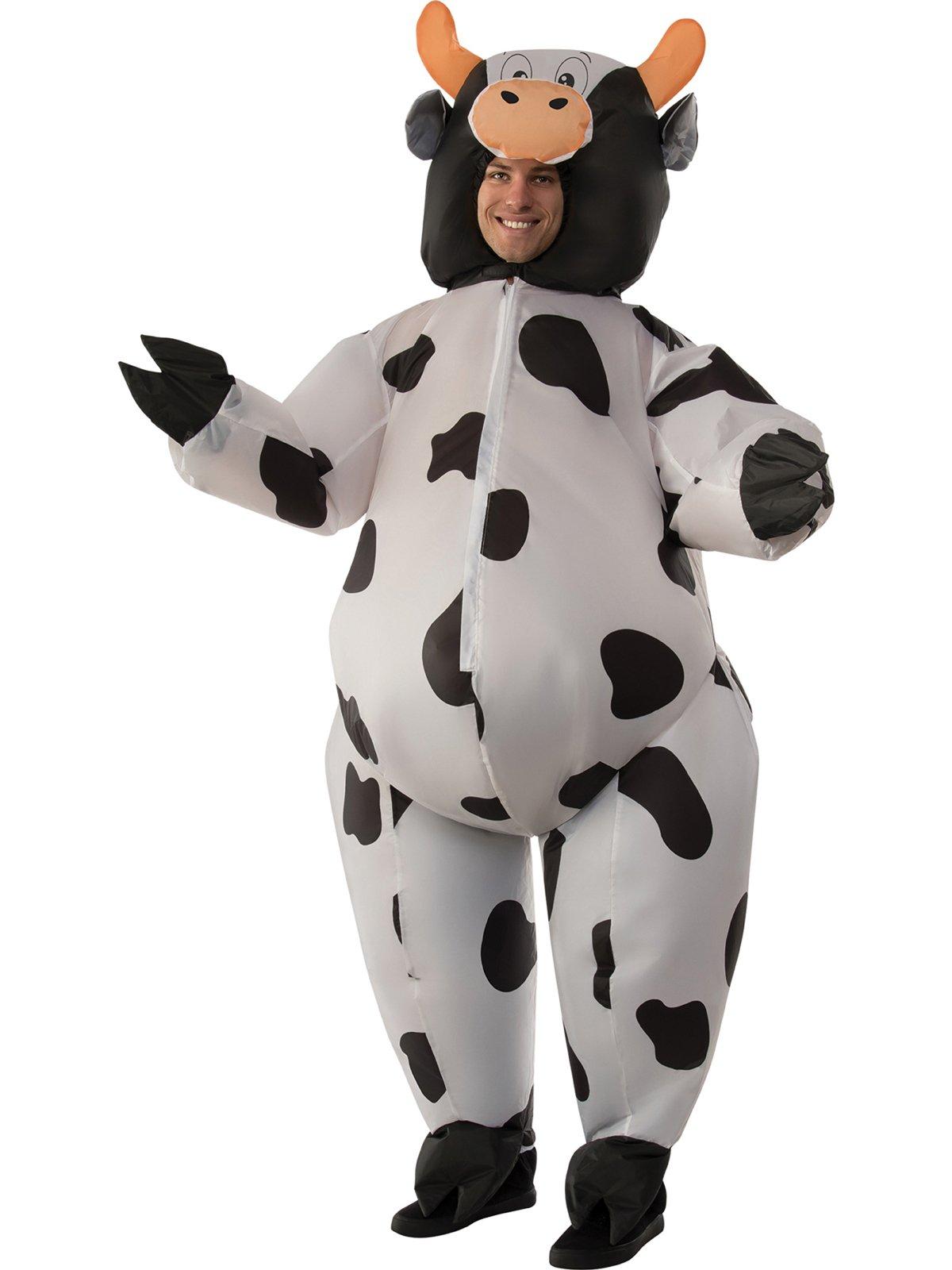 Men's Inflatable Cow Costume, Standard