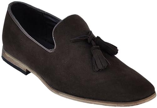 Galax Shoes zapatos de hombre , mocasines de cuero forro interior mocasines hombre: Amazon.es: Zapatos y complementos