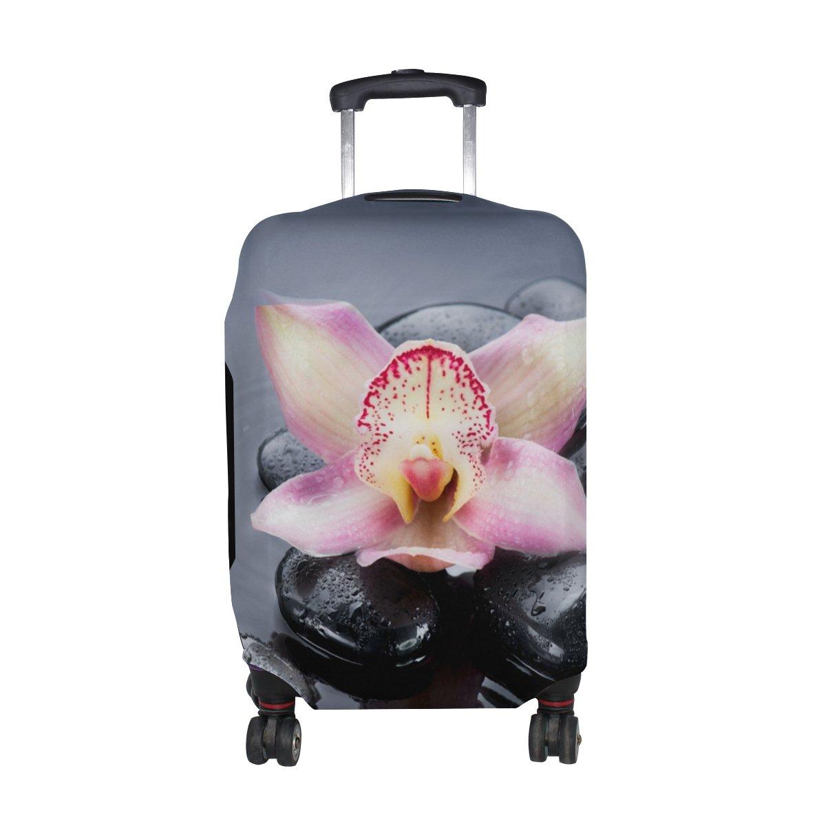 COOSUN equipaje Zen del balneario Imprimir equipaje COOSUN de viaje cubiertas protectoras lavable Spandex equipaje Maleta Cubierta - Se adapta a 18-32 pulgadas L 26-28 en Multicolor 72c3ff