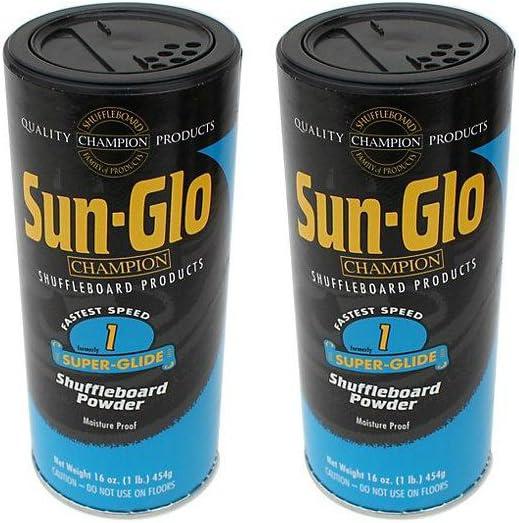 Sun-Glo #1 Shuffleboard Powder Wax - Fastest Shuffleboard Powder Wax