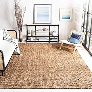 Safavieh Natural Fiber Collection NF447A Hand Woven Natural Jute Square Area Rug (10' Square) (B00HQ5ULL0) | Amazon price tracker / tracking, Amazon price history charts, Amazon price watches, Amazon price drop alerts