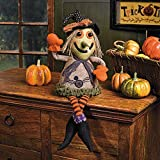 Plush Witch Shelf Sitter - Party Decorations & Room Decor