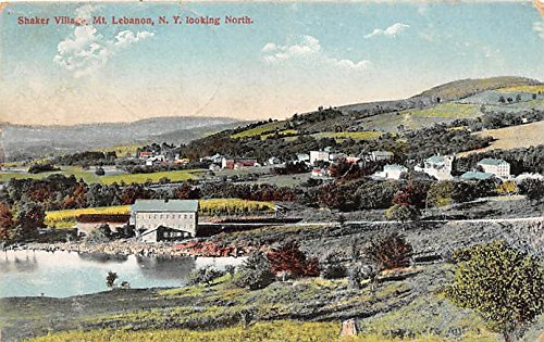 Shaker Village Looking North Mount Lebanon, New York, NY, USA Postcard