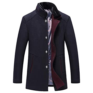 Amazon.com: Clearance Sale for Coat.AIMTOPPY Mens Fashion Business Windbreaker Long Thicken Slim Woolen Coat Outwear: Computers & Accessories