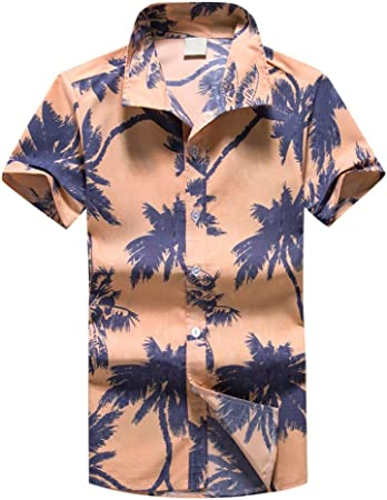 Wawer Hawaiian Impresora – Camisa para Hombres, Grande ...