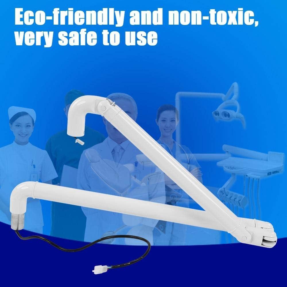 Dental Lenkung Kunststoff Licht LED-Lampe St/ützpfosten Arm f/ür Dentaleinheit Stuhl Verbinden Sie die Lampe ist 22mm