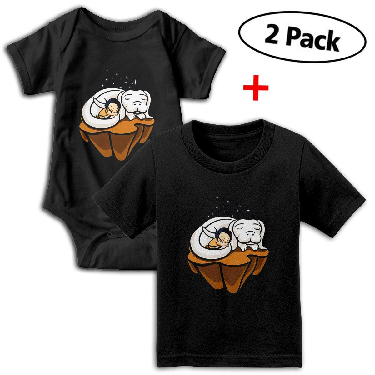 Never Ending Friendship Babys Boys /& Girls Short Sleeve Baby Climbing Clothes And Tee