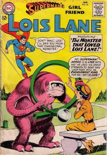 Superman's Girl Friend, Lois Lane, #54 (Comic Book, 1965): Lois Lane, Cupid