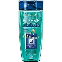 Shampoo Hydra-Detox Anti-Caspa Elseve L'Oréal Paris 200 ml, L'Oréal Paris, Branco, 200Ml