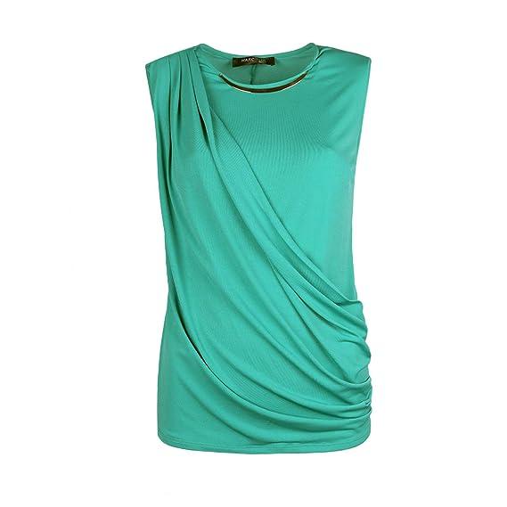 e2104f411 Guess Marciano Blouse - 62G455-6239Z-G843-0 - 36(EU)-10(UK) Green:  Amazon.co.uk: Clothing
